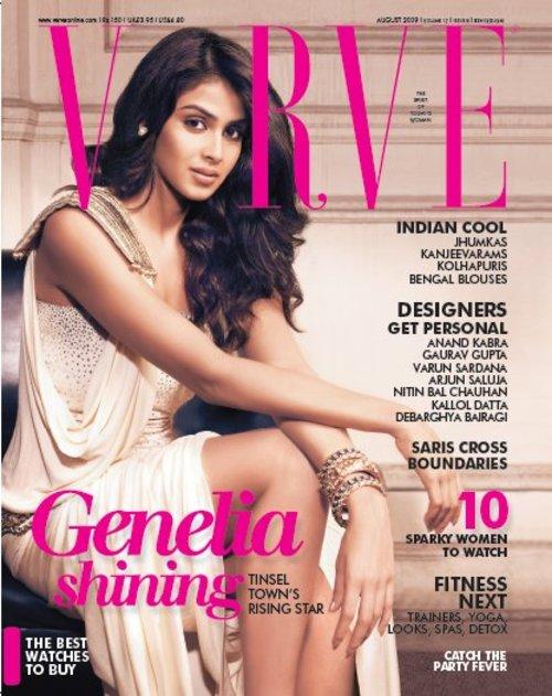 Genelia DSouza Verve magazine