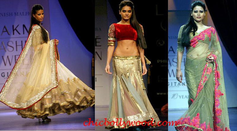 Manish Malhotra 2010 Lakme Fashion Week