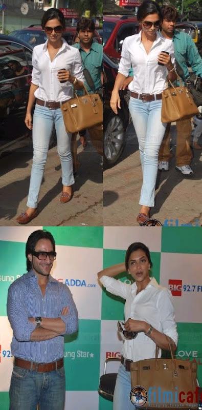Deepika Padukone Love Aaj Kal promotion Saif Ali Khan