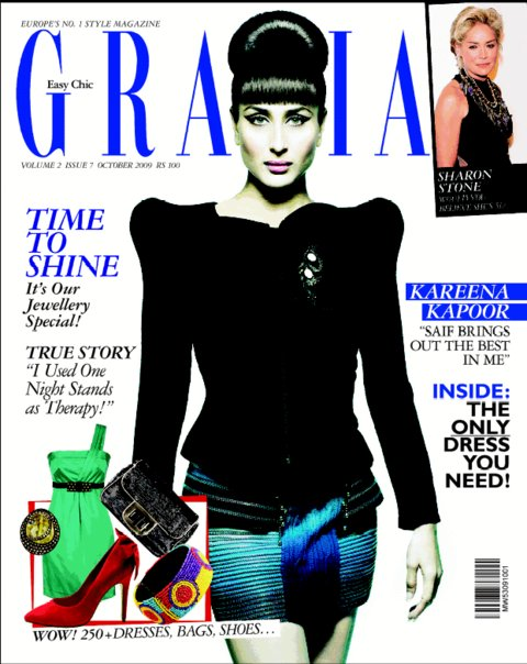 Grazia India Kareena Kapoor October issue