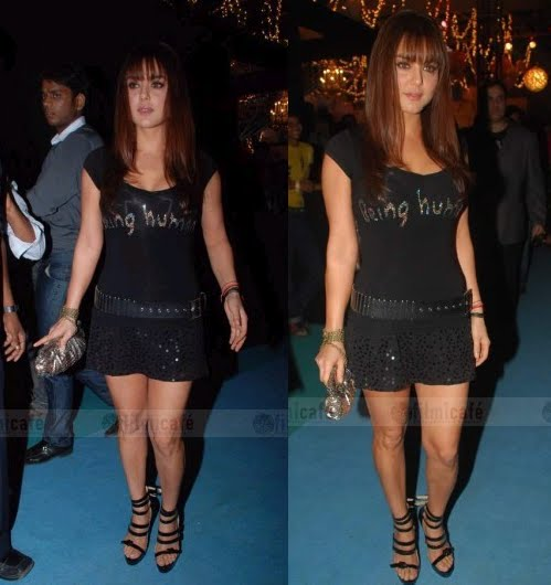 Preity Zinta HDIL Couture Week Salman Khan Being Human show