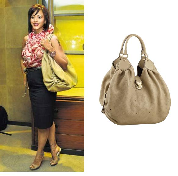 Manasi Scott Deepika Gehani Louis Vuitton Mahina bag