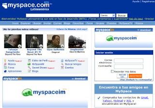 Layout Myspace
