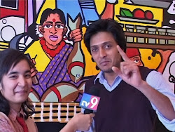 YJ Swati with Ritesh Deshmukh