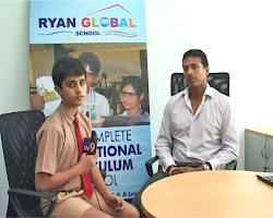 YJ Shashwat with Mahesh Bhupati