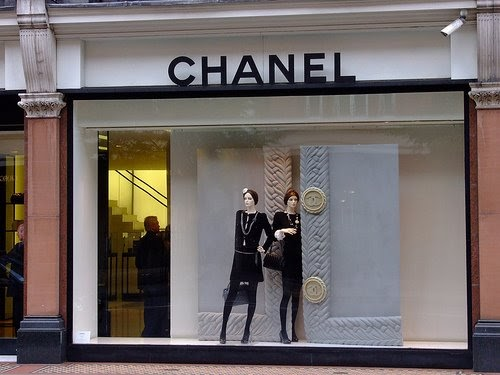 flagship stores in london  chanel
