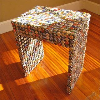 ruff studio bottle cap furniture