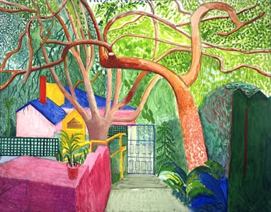 The gate_ Hockney