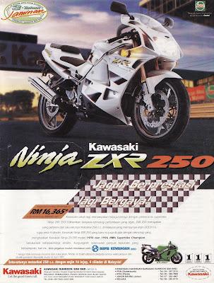 kawasaki ZXR 250 Malaysia