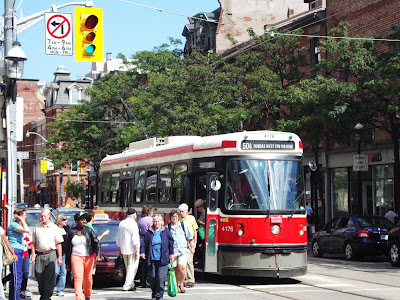 toronto streetcar