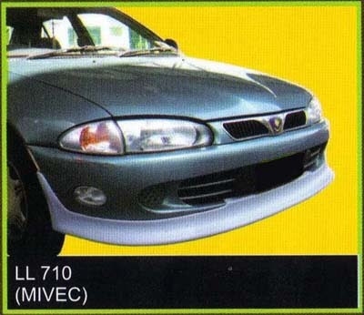 Proton Satria Mivec Satria Mivec Front Lip Fibre