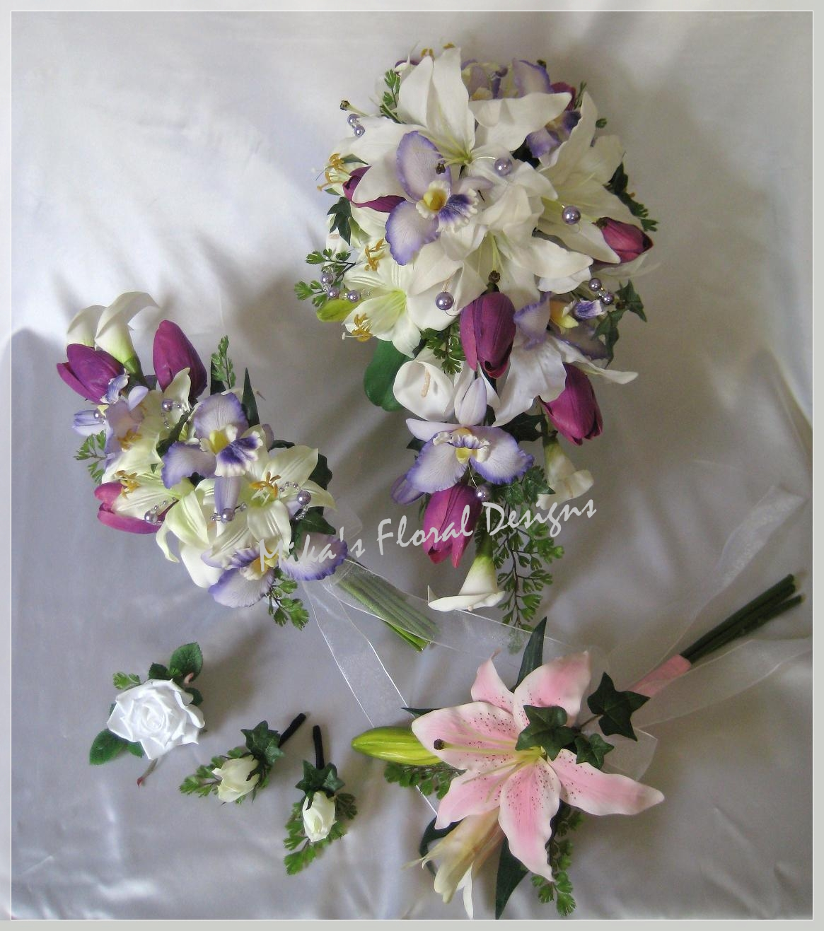 calla lily flower arrangements for weddings Photo