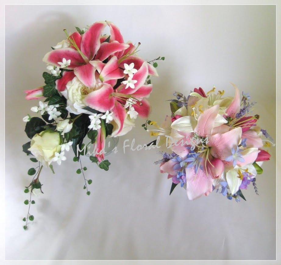 Wedding Bouquets: Artificial Wedding Flower Bouquets