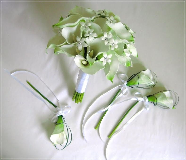 Wedding Flowers Lilies : Artificial wedding flowers and bouquets australia