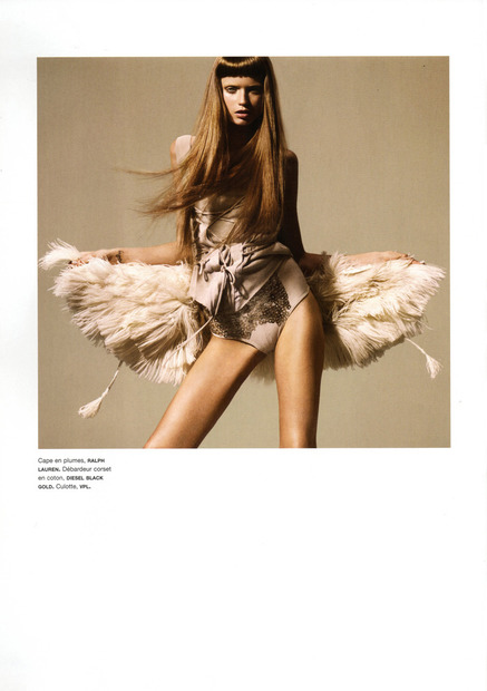 Numéro #109 - Abbey Lee Kershaw-fashionablyfly.blogspot.com