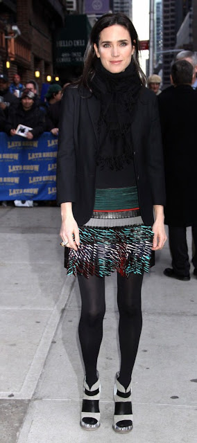 Jen Connelly-Balenciaga Skirt-fashionablyfly.blogspot.com