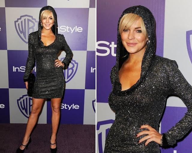 Lindsay Lohan+Golden Globes AP+fashionablyfly.blogspot.com