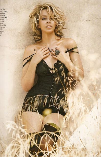Kylie Minogue in Vogue Spain February 2010+fashionablyfly.blogspot.com