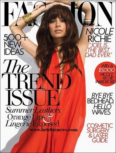 Nicole Richie+Fashion Mag+fashionablyfly.blogspot.com