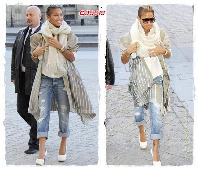 Cassie Fashion WK+Boyfriend Jeans+Fashionablyfly.blogspot.com