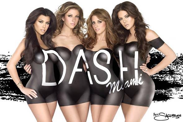 Kardashians Dash ad+Fashionablyfly.blogspot.com
