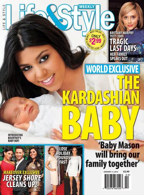 Kourtney Kardashian+Baby-Fashionablyfly.blogspot.com