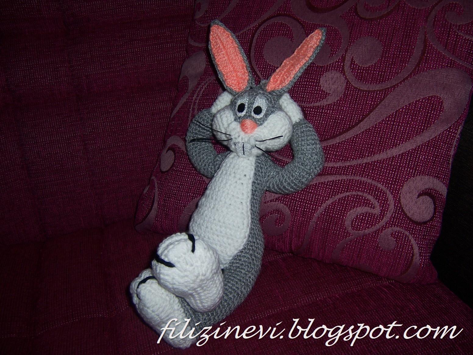Amigurumi Bugs Bunny Yapilisi : F?L?Z?N EV?: AM?GURUM? BUGS BUNNY