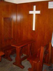 Foto del confesionario de la parroquia