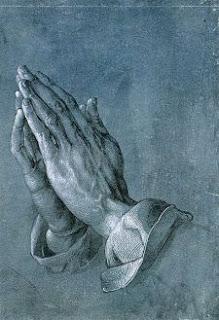 Imagen del cuadro 'Manos que rezan', de Alberto Durero (1508)