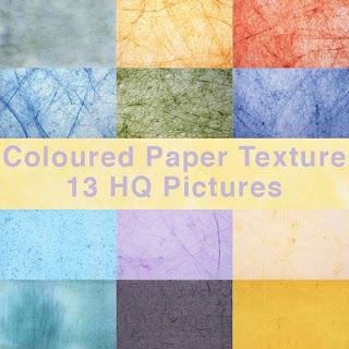 Текстуры цветной бумаги