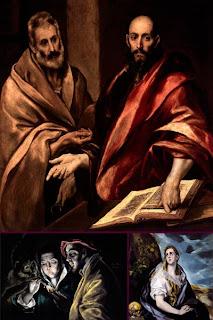Картины испанского художника Ель Греко
