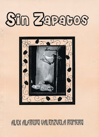 """SIN ZAPATOS"", antologa potica de Alex-Alfredo VALENZUELA ROMERO - 2009"