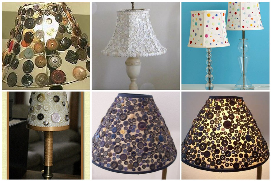 P8 Buttons & Fabrics: Button Wednesday : Even More Lamps
