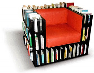 Bookcase armchair - BIBLIOCHAISE From NoBodyandCo