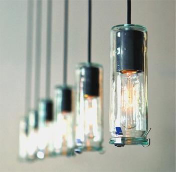 Weck pickle jar lights