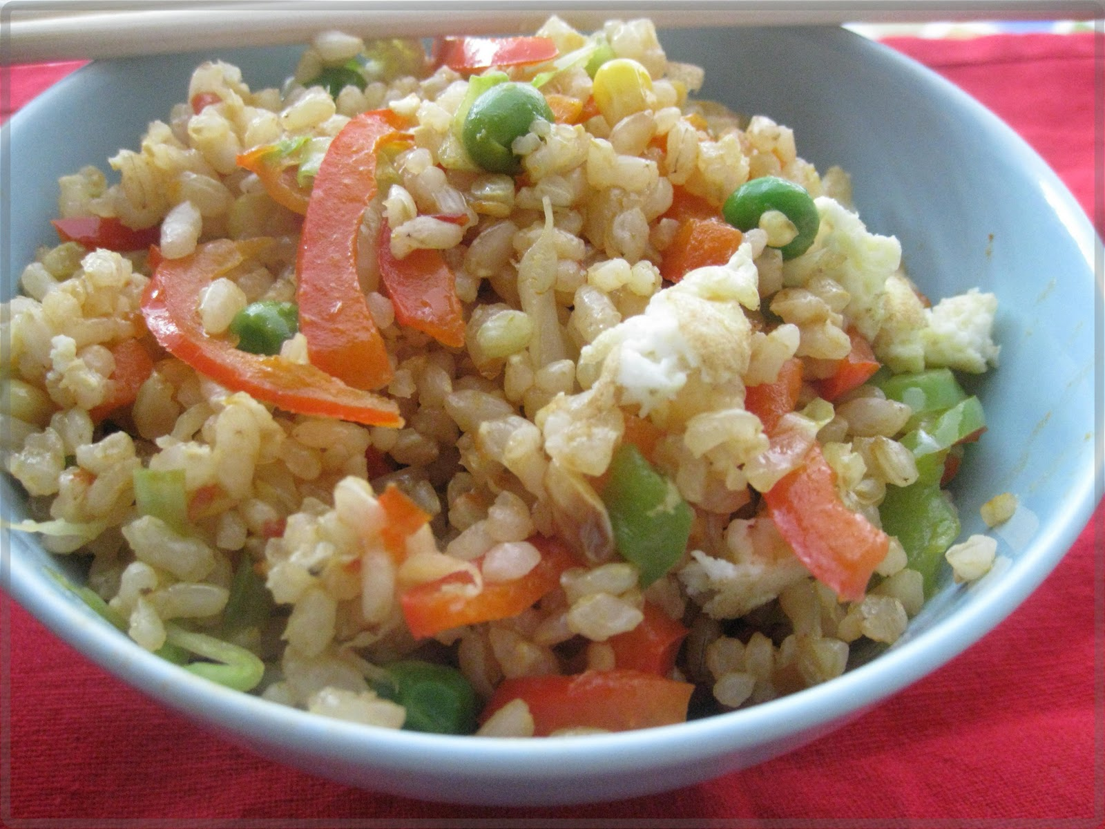 Fried rice ( shortlisted from here ).I never realized that fried rice ...
