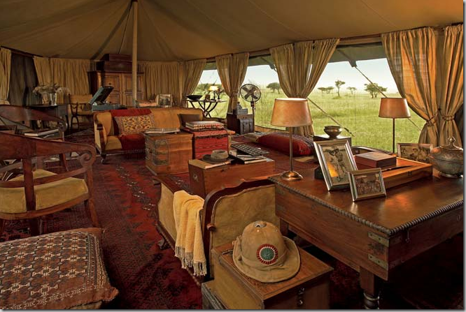 Safari Tapete Out Of Africa : Safari Tent Interior