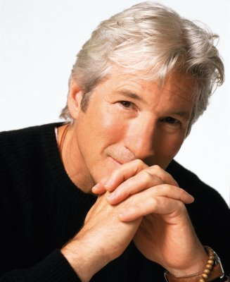 richard gere with gray hair 