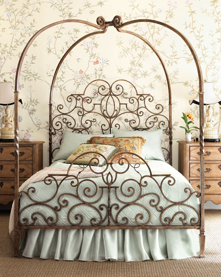 Wrought Iron Canopy Bed Frames