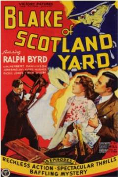 A Sombra do Escorpião (Blake of Scotland Yard, 1937), de Robert F. Hill
