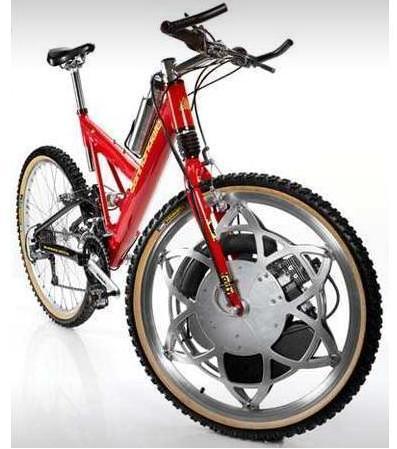 自転車の 自転車 前輪駆動 : Bicycle Gas Powered Bike