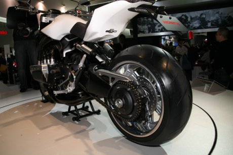 Honda on The Honda Evo6 Concept Motorcycle Is Automatic Sports Cruiser Features