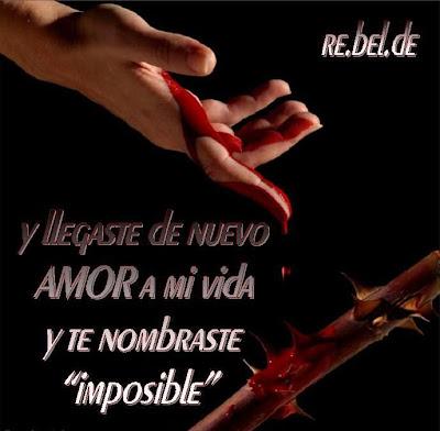 un amor imposible. 2011 frases de amor imposible.
