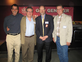 Bill with MLAs Corky Evans, Guy Gentner, Charlie Wyse
