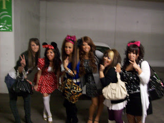 Gyaru group picture