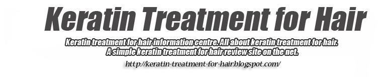 keratin treatment for hair