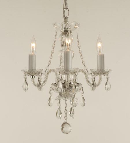 Connie deamond interior creations chandeliers in the bathroom - Small bathroom chandelier crystal ...