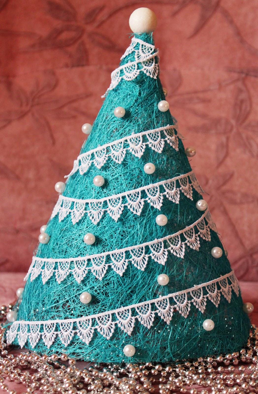 Новогодняя елка конус своими руками