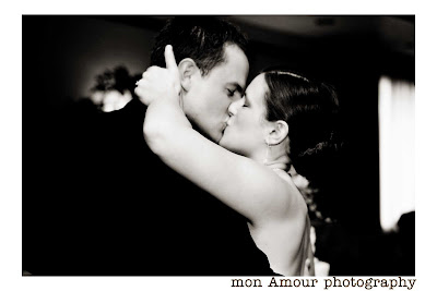 Carrie & Bob kiss