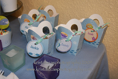 Baby Shower Favors  on Paper And Cake  P C Real Life Parties   Under The Sea Baby Shower